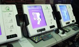 Old voting machines